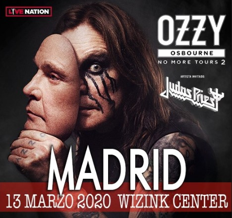 Ozzy Osbourne + Judas Priest Madrid 2020