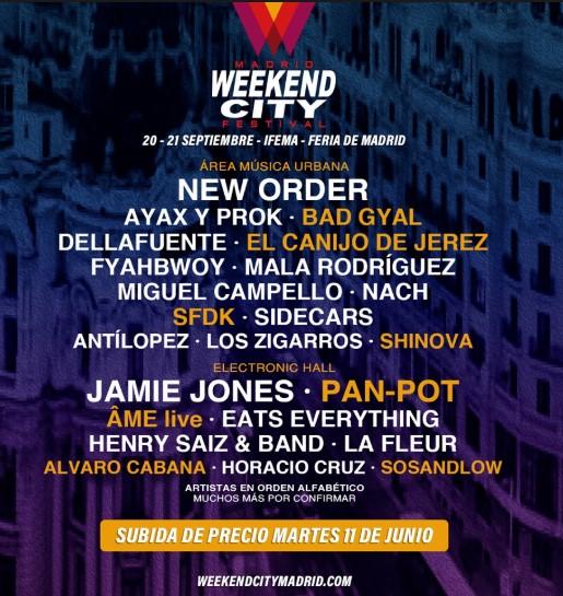 Weekend City Madrid 2019