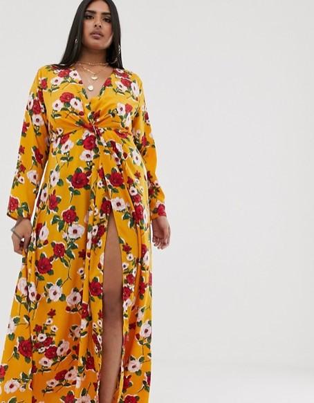 vestidos asos curve