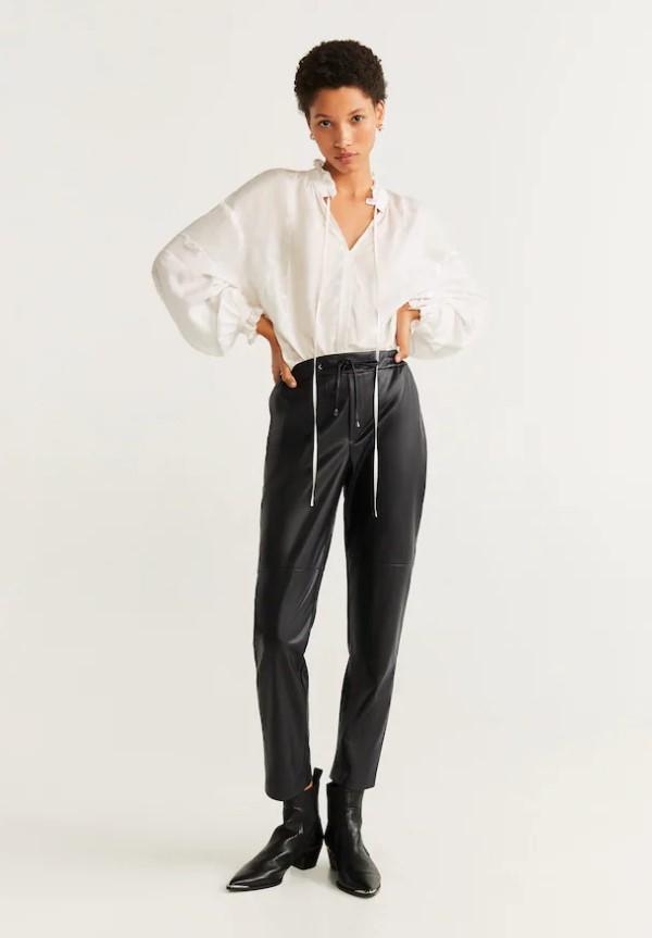 pantalones de piel 2020