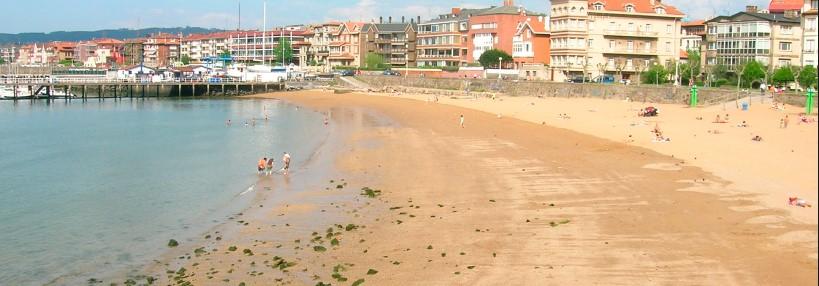 Playa de Las Arenas en Getxo