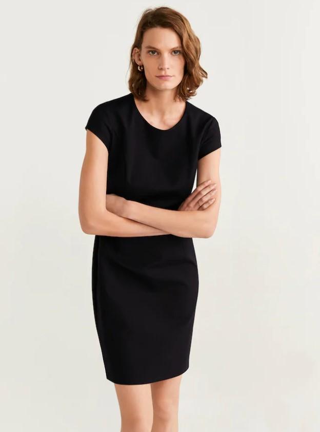 vestidos negros 2020