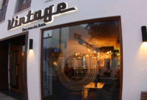 vintage the music bar