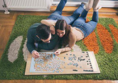 puzzles en casa